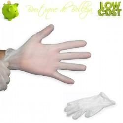 guantes vinilo talla S