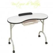 mesa plegable manicura