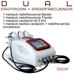 dual CAVITACION+RADIOFRECUENCIA